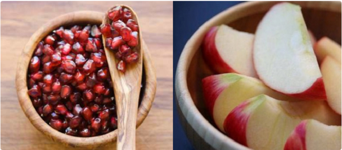 How to make pomegranate juice with apple